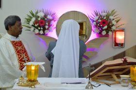 PLACING JESUS IN THE TABERNACLE