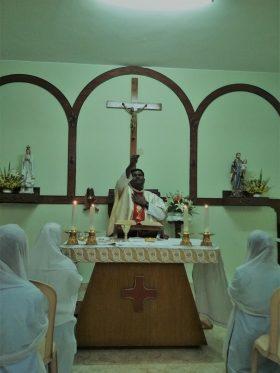 Eucharistic celebration on 06-04-2018