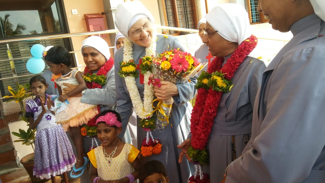 Canonical Visit at  Jeevadaan- Mangalore
