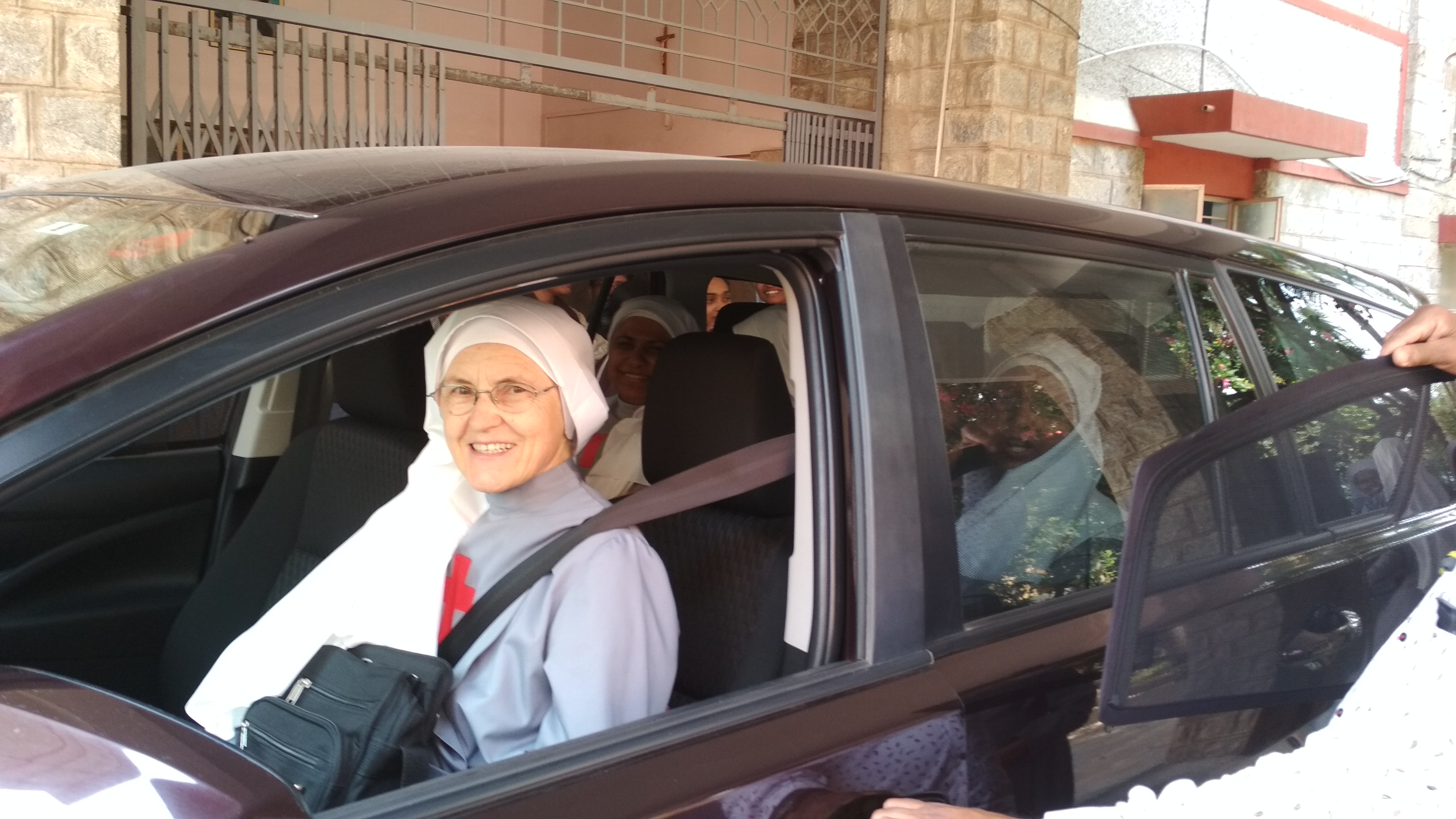 Mother Zelia leaving India on 15-02-2019