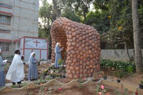 Blessing & Inauguration of the Grotto at Bangalore
