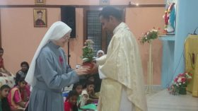 Celebration of  the Feast of Rev. Mother at Mangalore