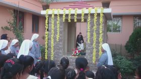 Blessing of the Grotto of St. Camillus at Mangalore