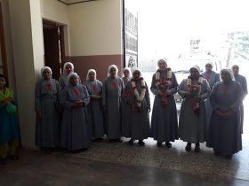 Canonical Visit of Rev. Mother Zelia At Kottayam